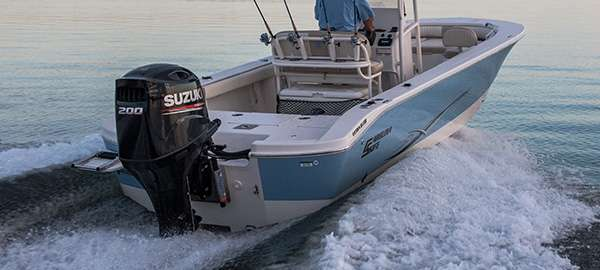 Picture of boat using DF200A
