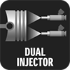 DUAL INJECTOR