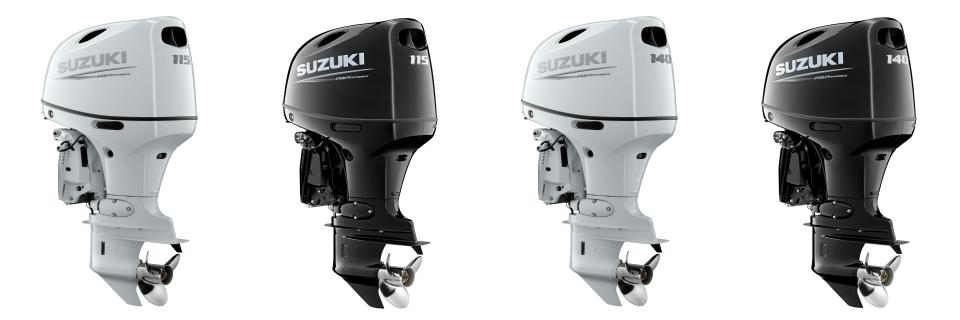 SUZUKI UNVEILS DF115BG & DF140BG 4-CYLINDER OUTBOARDS