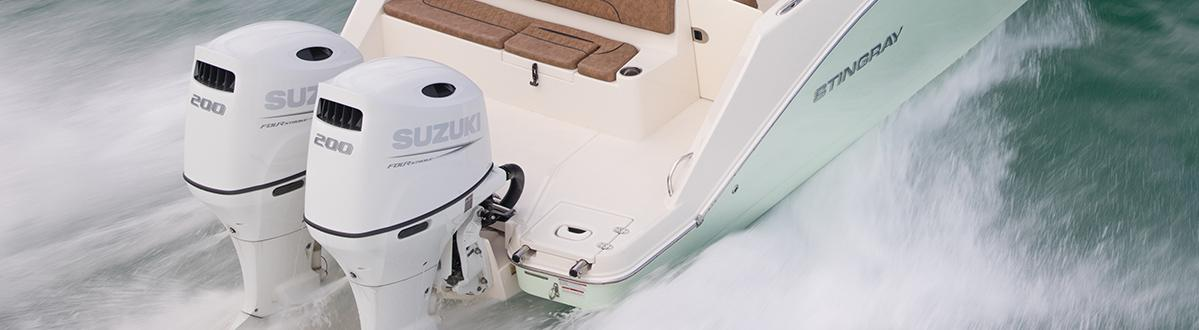 Picture of boat using DF200AP