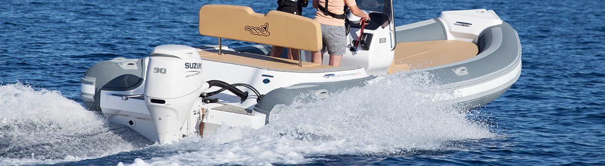 Picture of boat using DF100B/DF90A/DF80A/DF70A