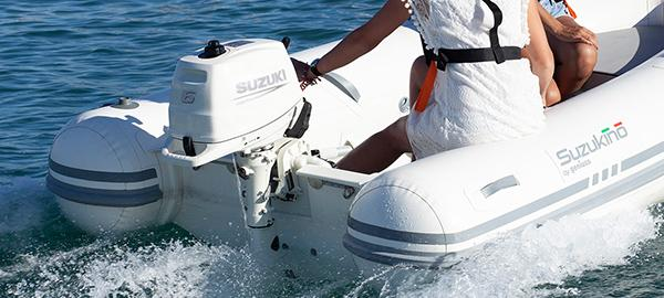 Picture of boat using DF6A/DF5A/DF4A