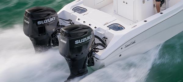 Picture of boat using DF300AP/DF250AP
