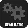 2-STAGE GEAR REDUCTION