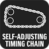SELF-ADJUSTING TIMING CHAIN